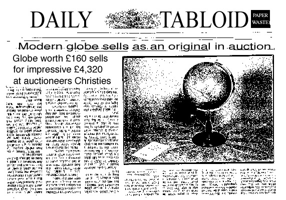 the times  - greaves and thomas make a diverse range of terrestrial globes, globes of the world, world globe, world globes, celestial globes, planetry globes, lunar globes, customised globes, customised world globes, customised globes of the world, paper globes, replica globes,