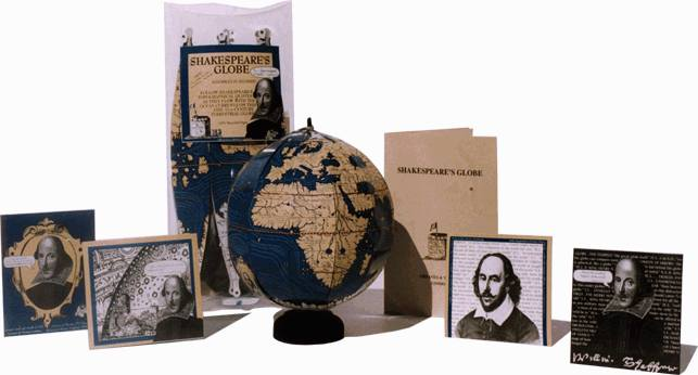 Shakespeare's Globe  - greaves and thomas make a diverse range of terrestrial globes, globes of the world, world globe, world globes, celestial globes, planetry globes, lunar globes, customised globes, customised world globes, customised globes of the world, paper globes, replica globes,
